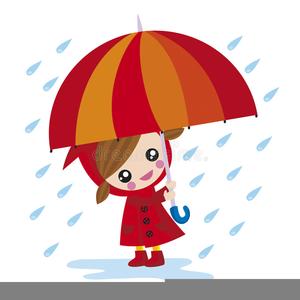Girl with umbrella.