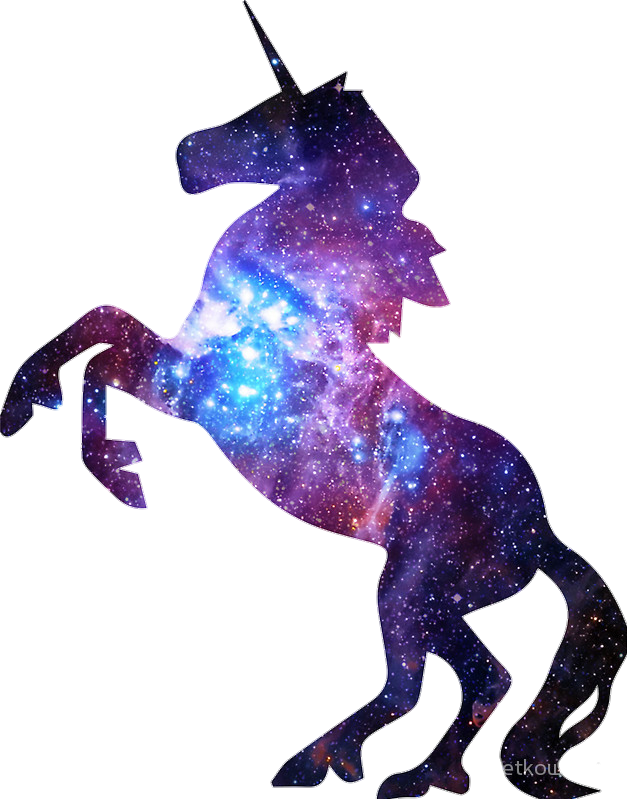 Galaxy unicorn magic.
