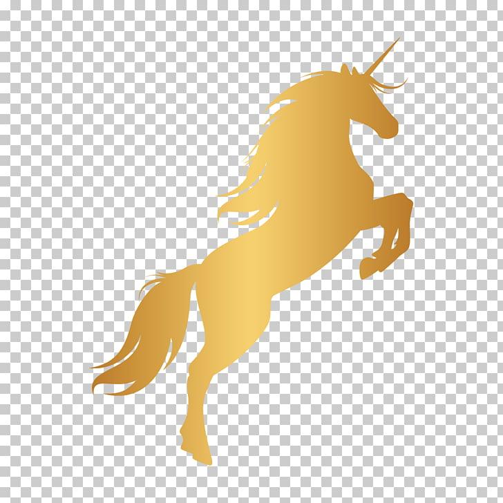 Unicorn horn mustang.