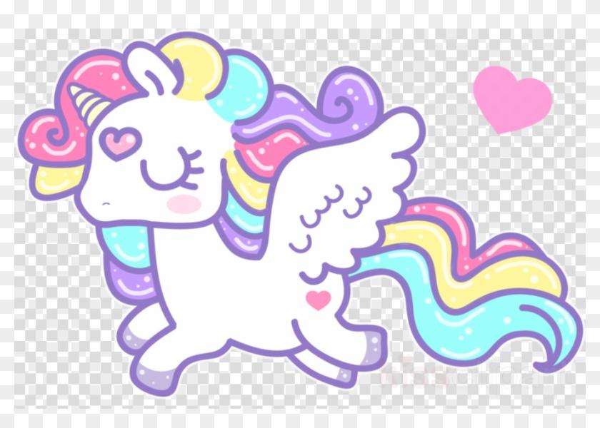 Pretty unicorn clipart.
