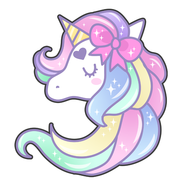 Pastel unicorn coisas.