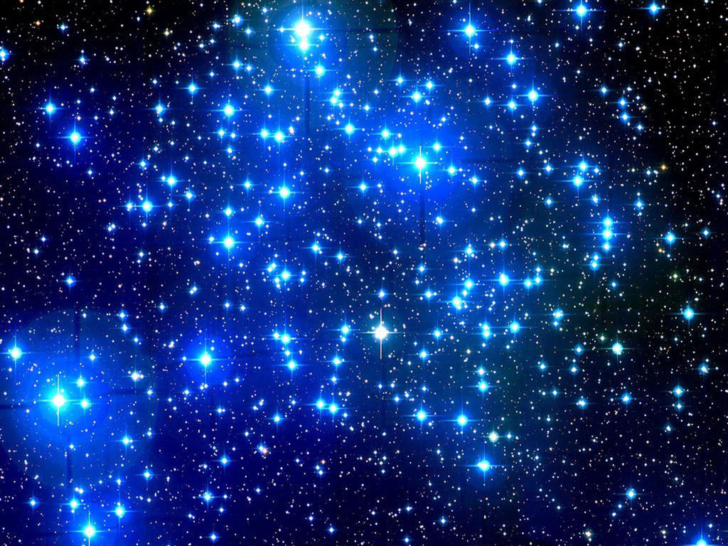 Blue stars prove.