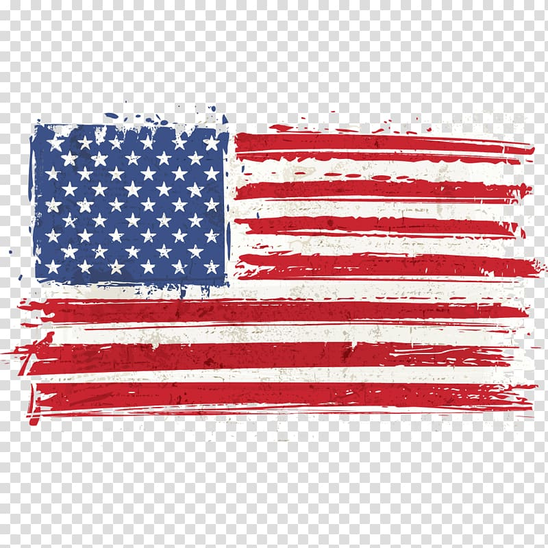 Usa flag illustration.