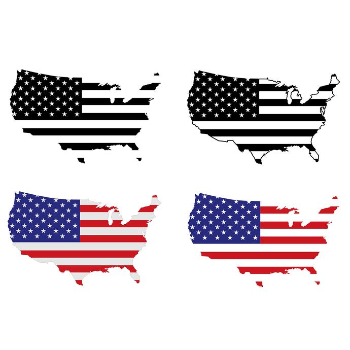 American flag usa.