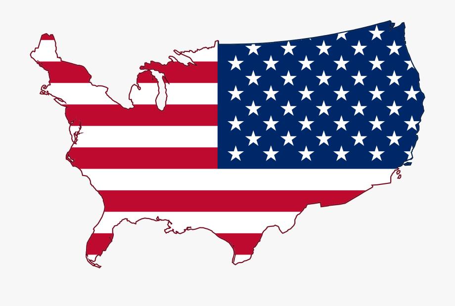 Clipart flag mapa.