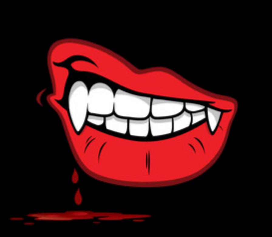 Vampire clipart lip.