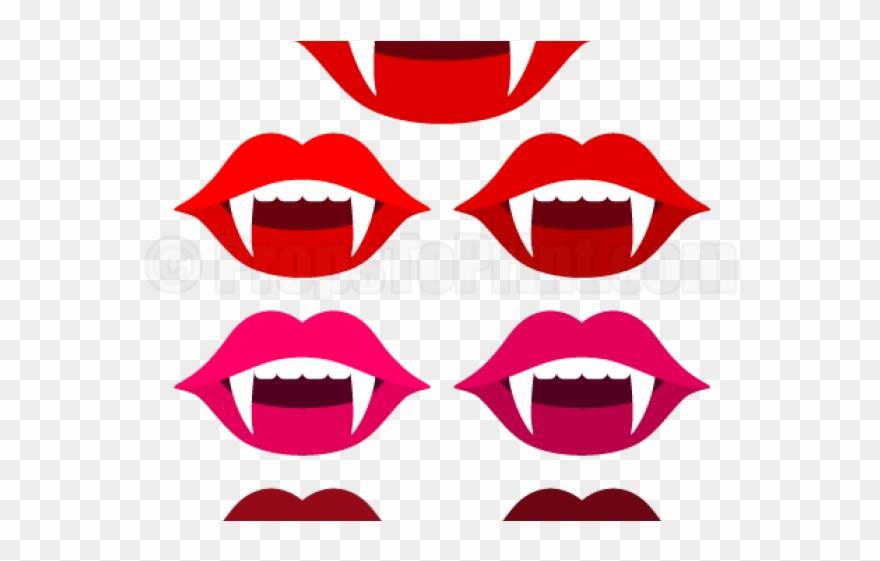 Lips clipart vampire.