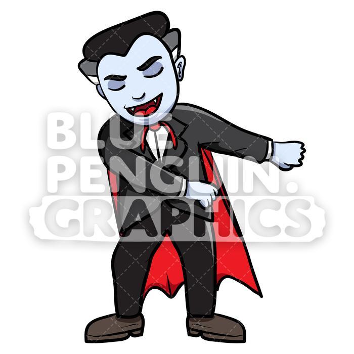 Scary vampire flossing.