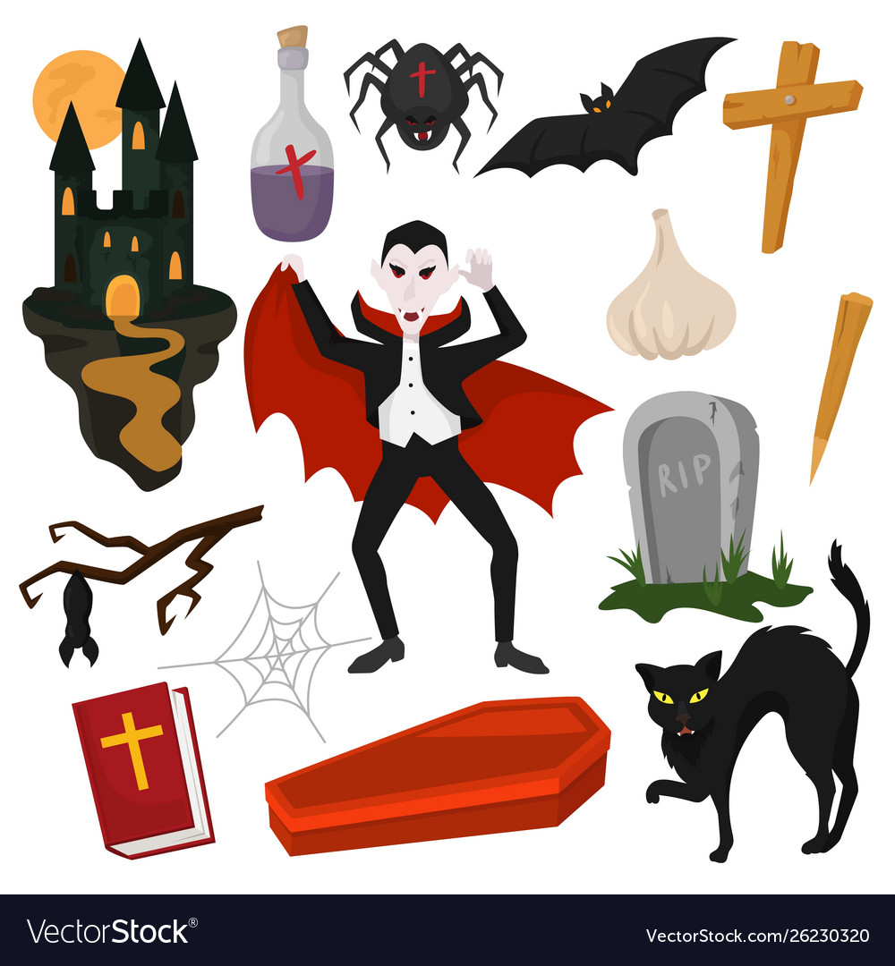 Vampire cartoon dracula.