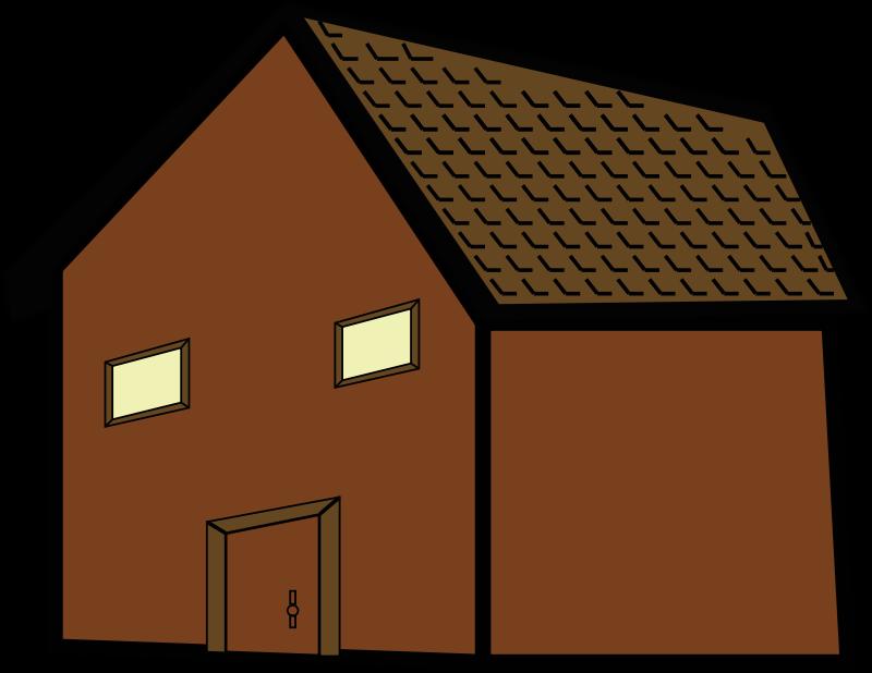 village clipart house