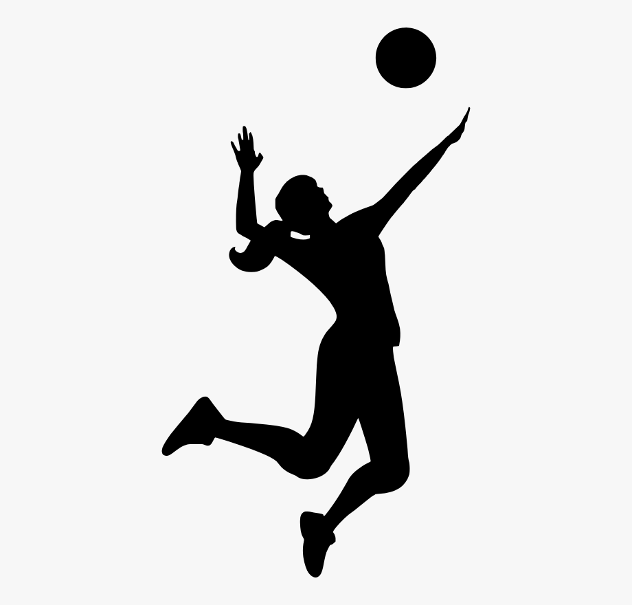 sports clipart silhouette