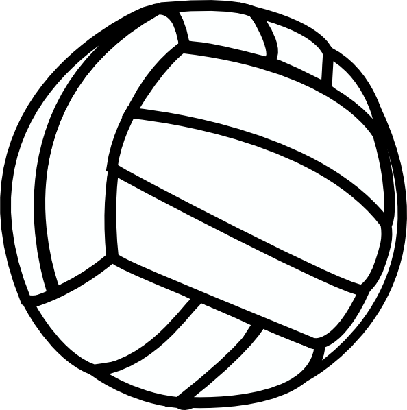 Clipart volleyball volleyball.