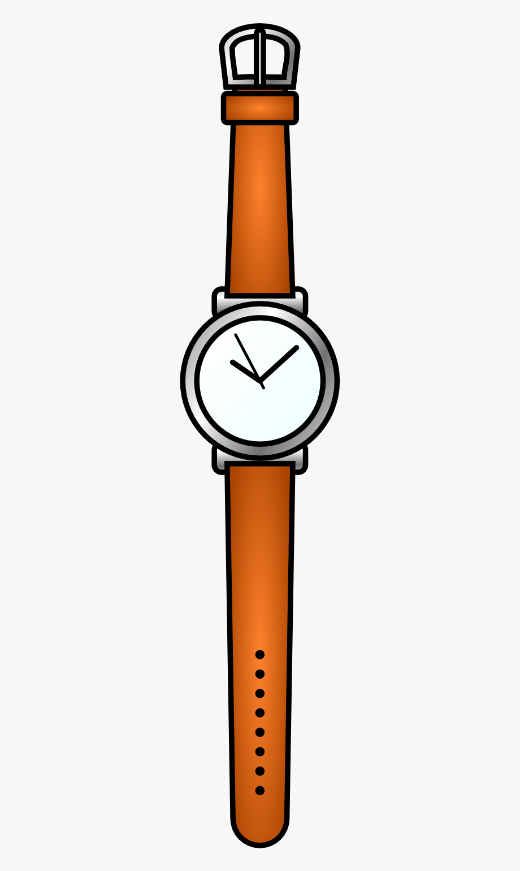 Watch clipart wrist.