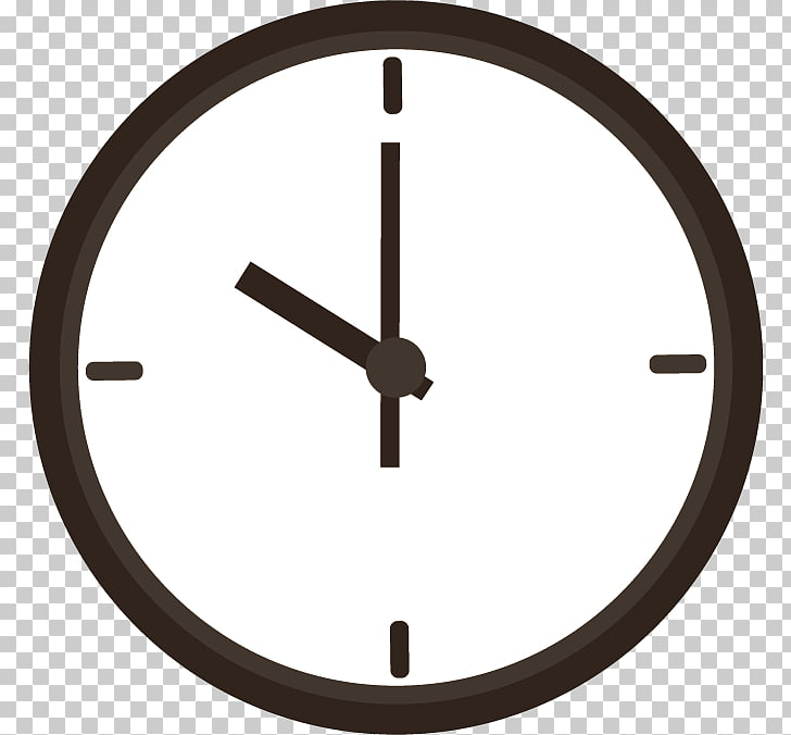 Time Clock , Watch, round black framed clock PNG clipart