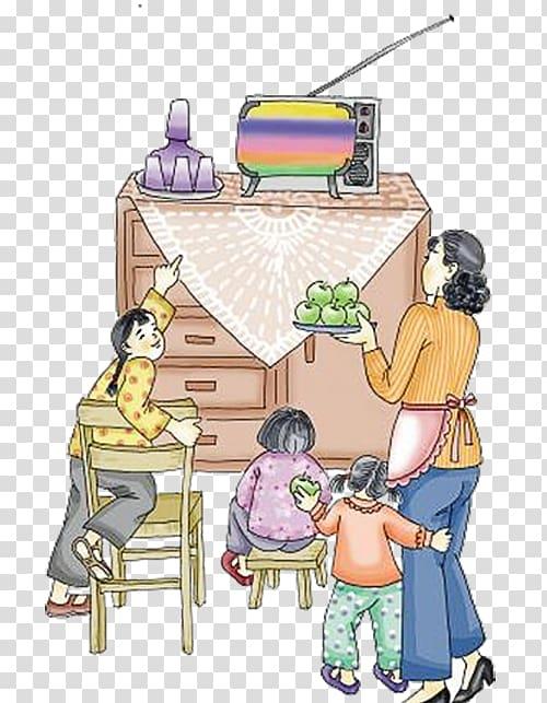 Television illustration years.