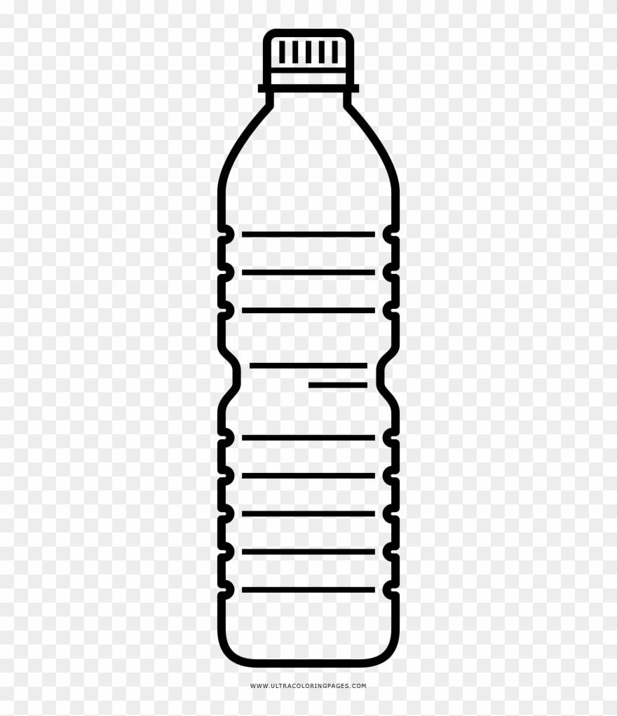 Water plastic bottle.