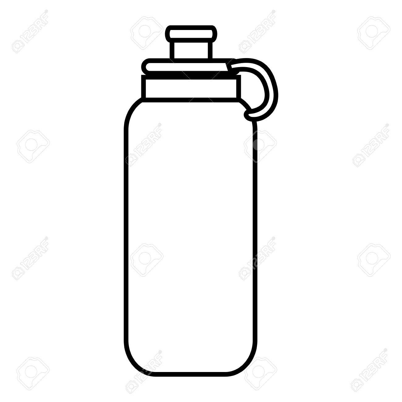 Water bottle object.