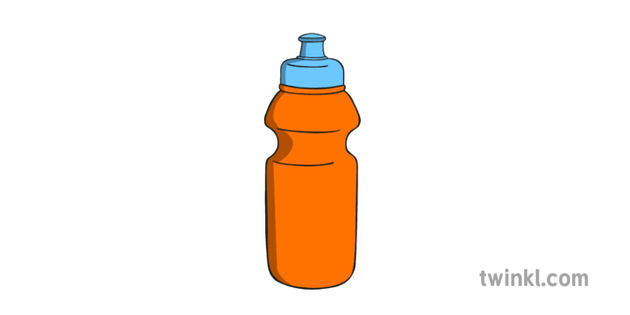Water bottle drink.