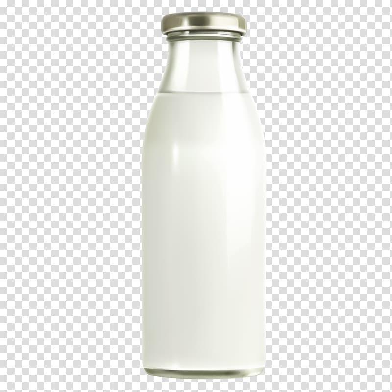 Water bottle glass.