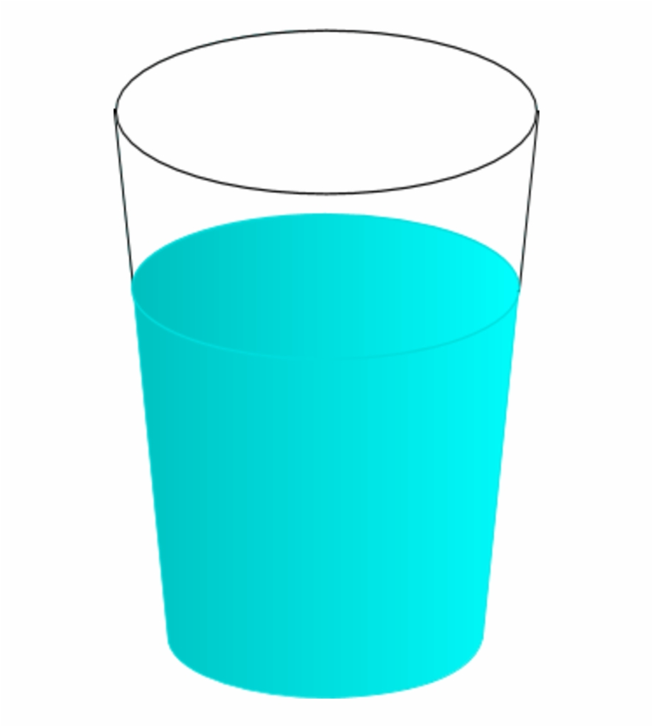 Water Glass Glass Of Water Tumbler Cup Clipart Wikiclipart