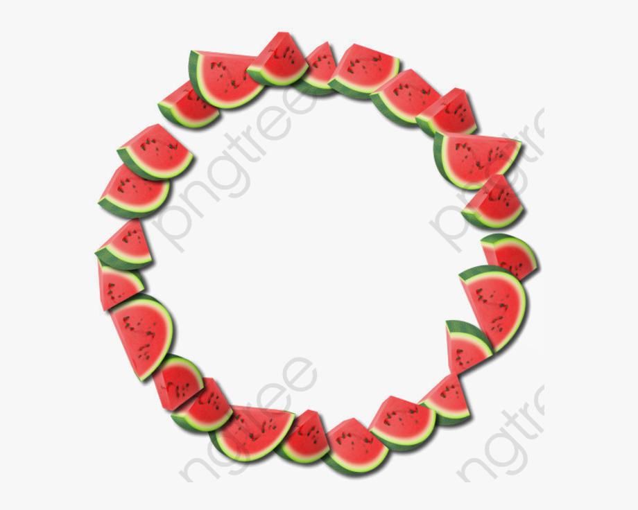 Watermelon clipart bitten.