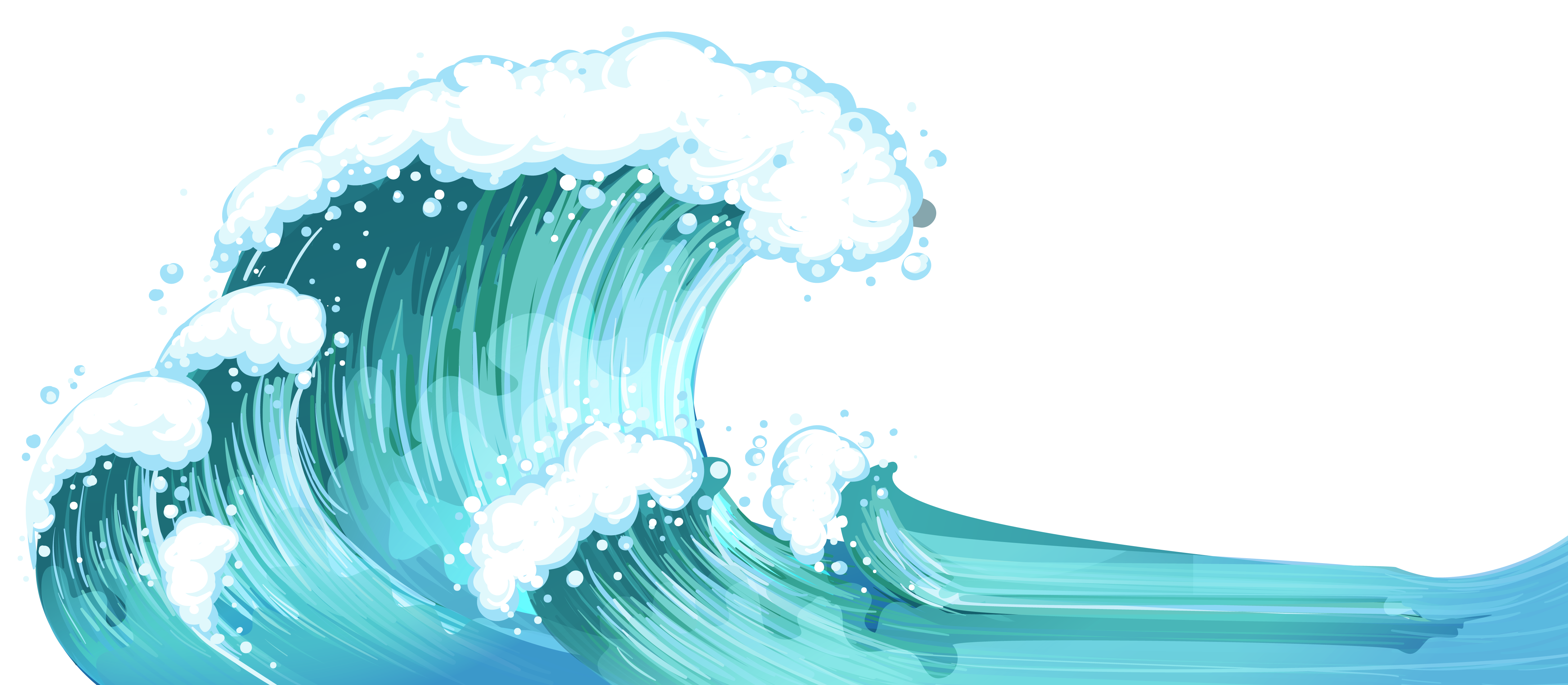Sea Waves PNG Clipart