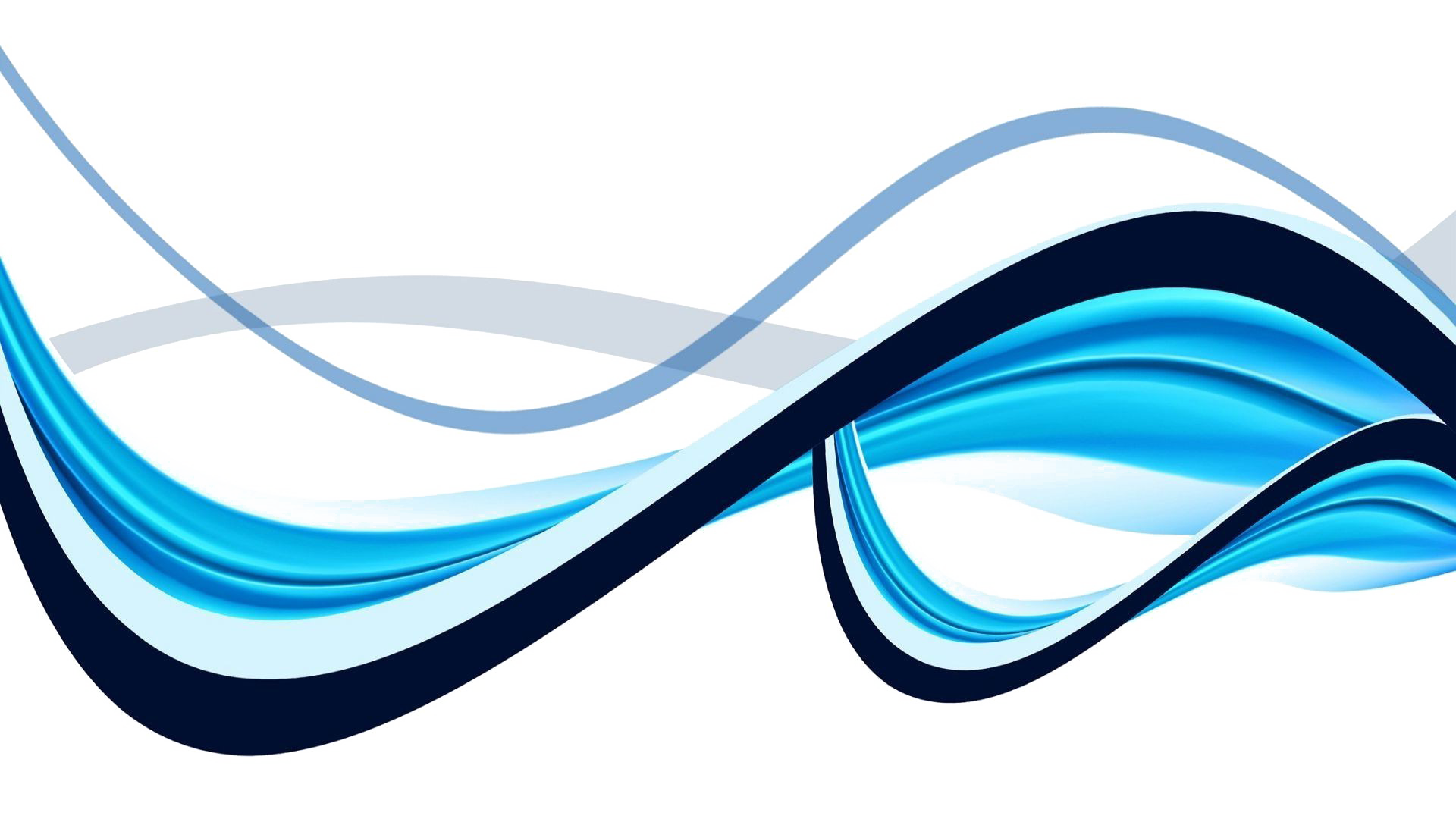 waves clipart abstract