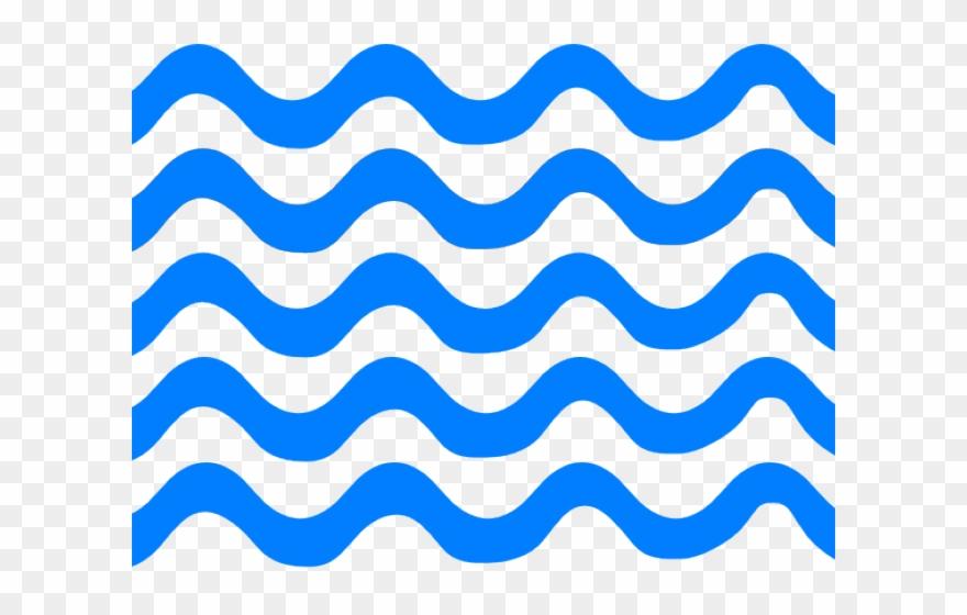 Lines clipart blue.