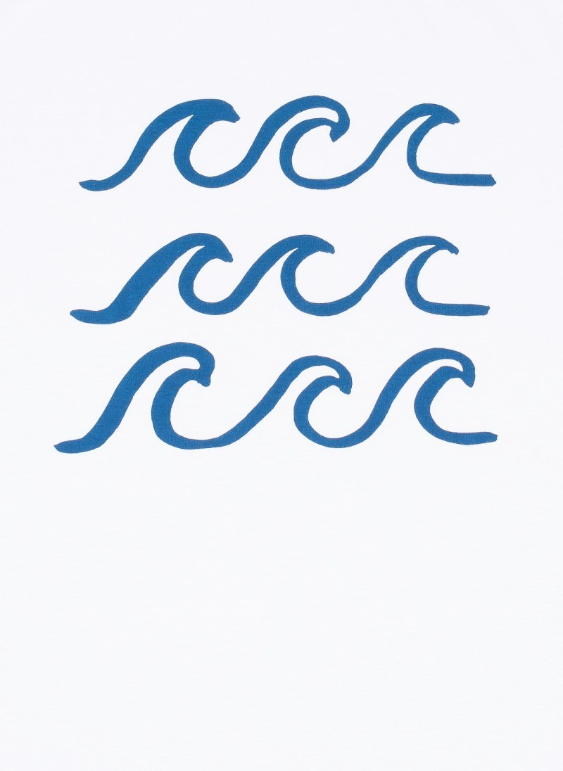 Ocean waves drawing.