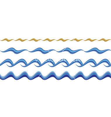 Free wave lines.