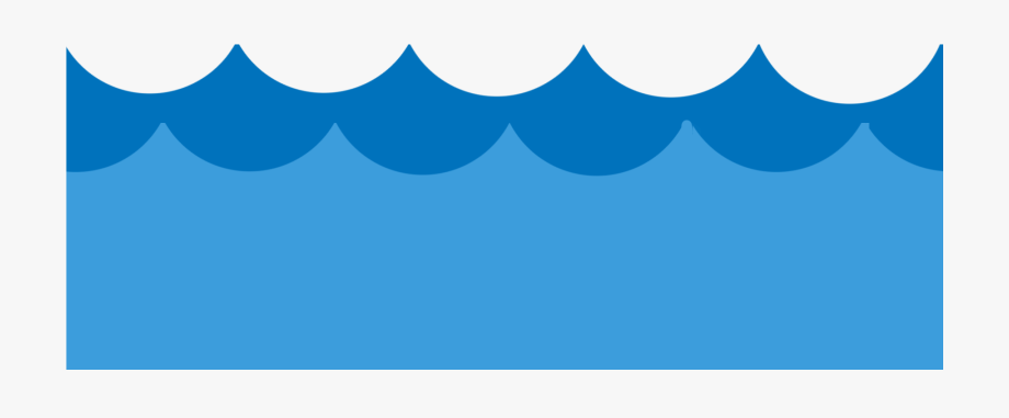 Water waves flat.
