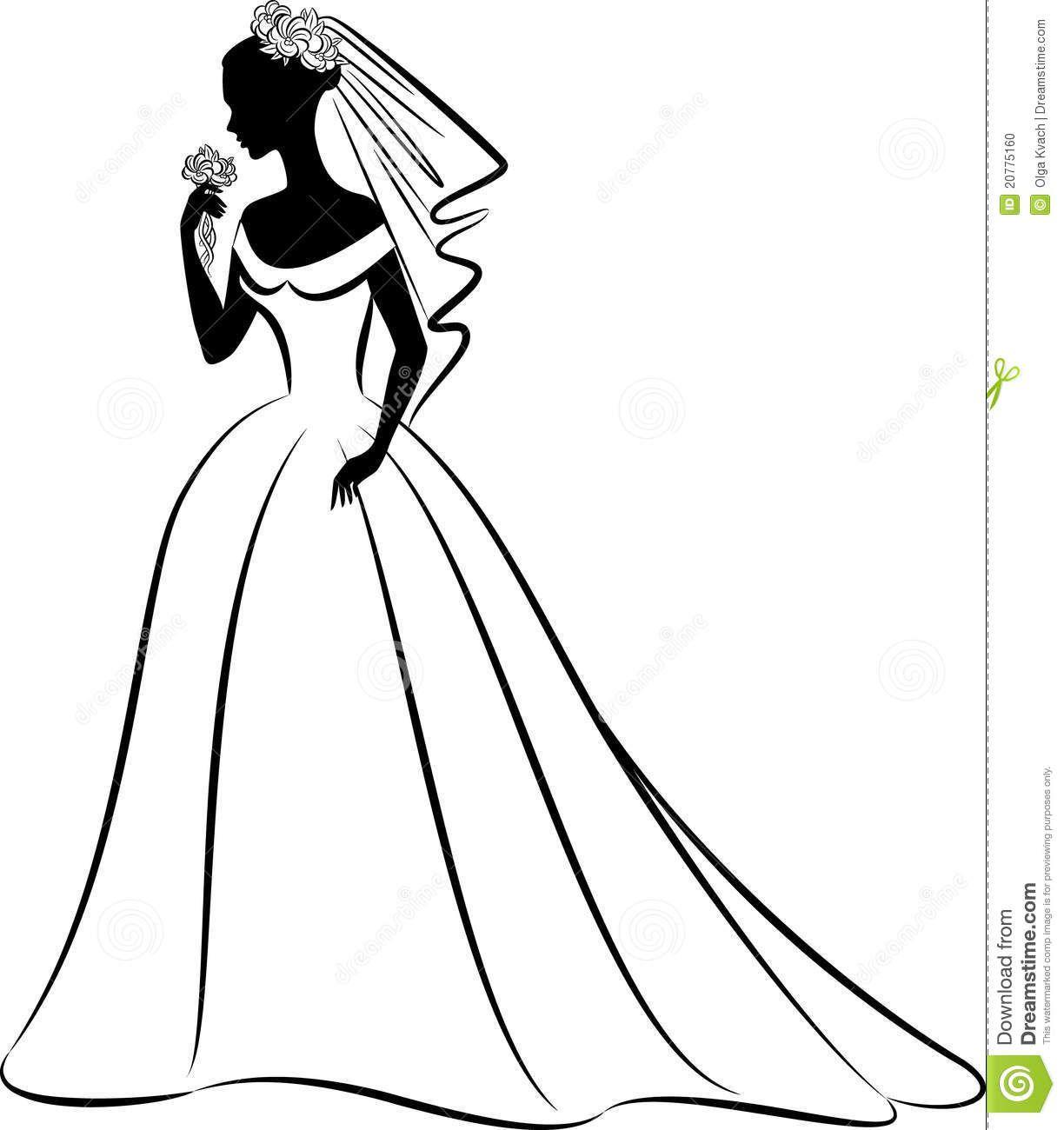 Bridal clip art.