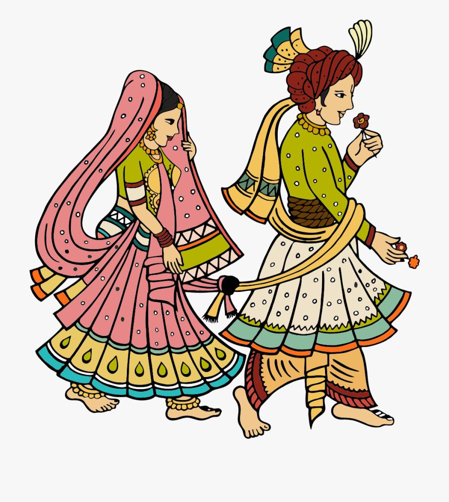 Marriage clipart colour.