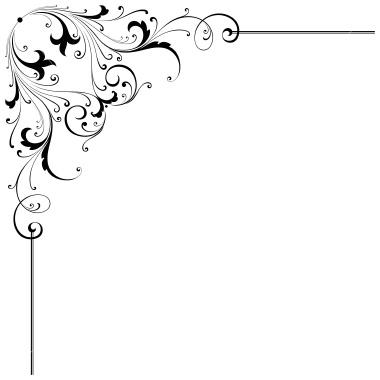 Corner scroll clip.
