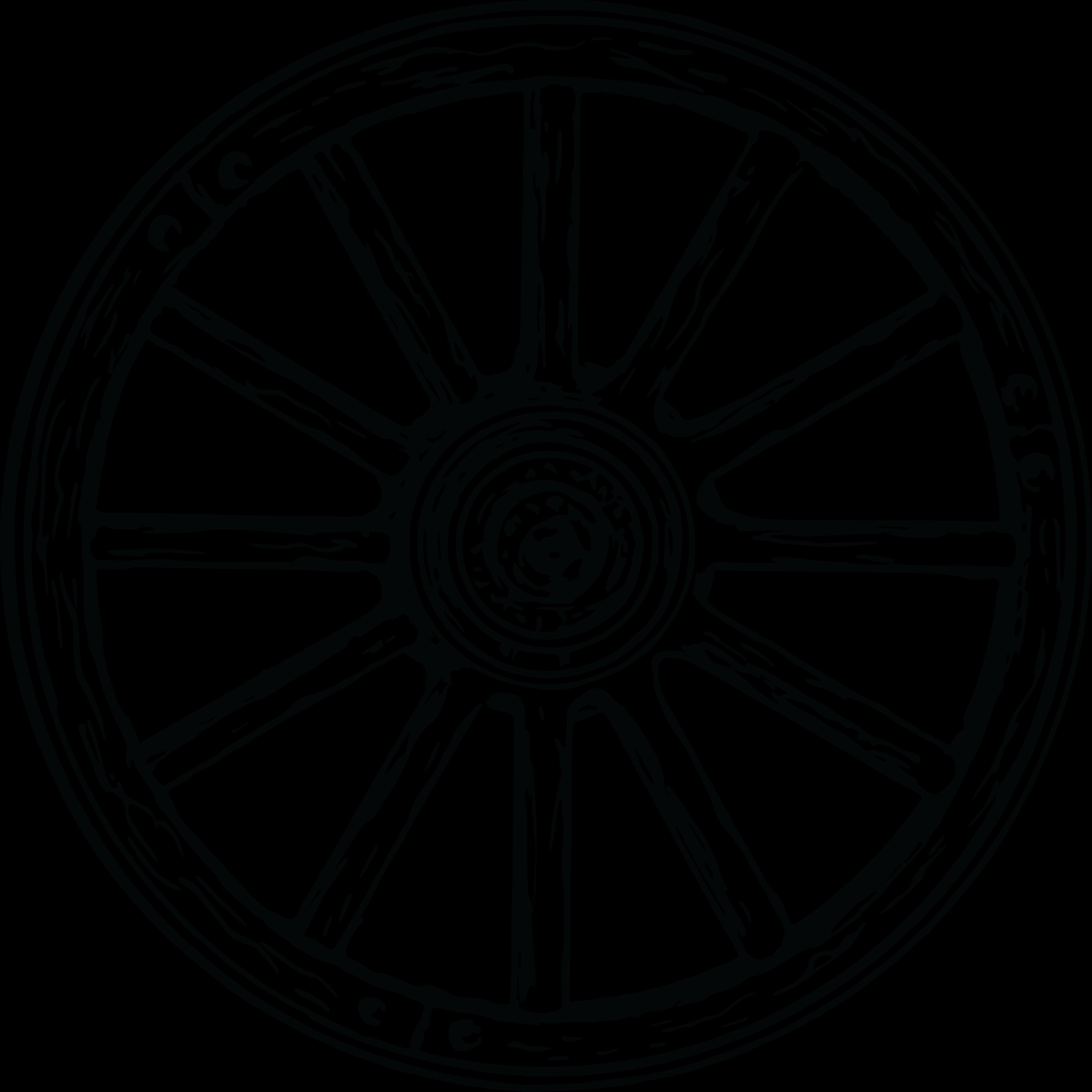 Wheel clipart bullock cart, Wheel bullock cart Transparent