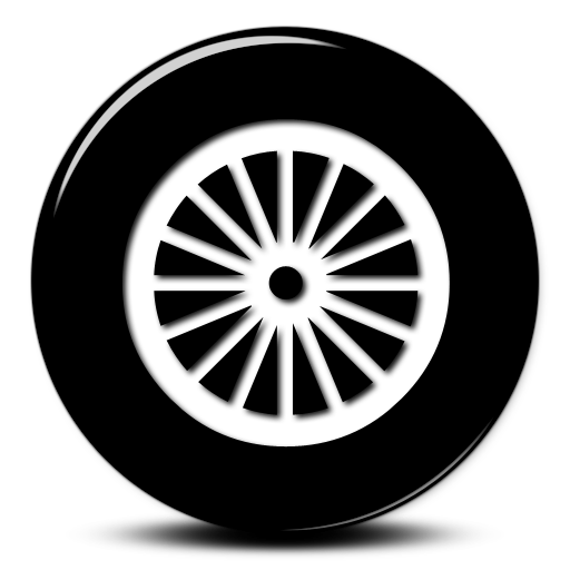 Free wheel cliparts.