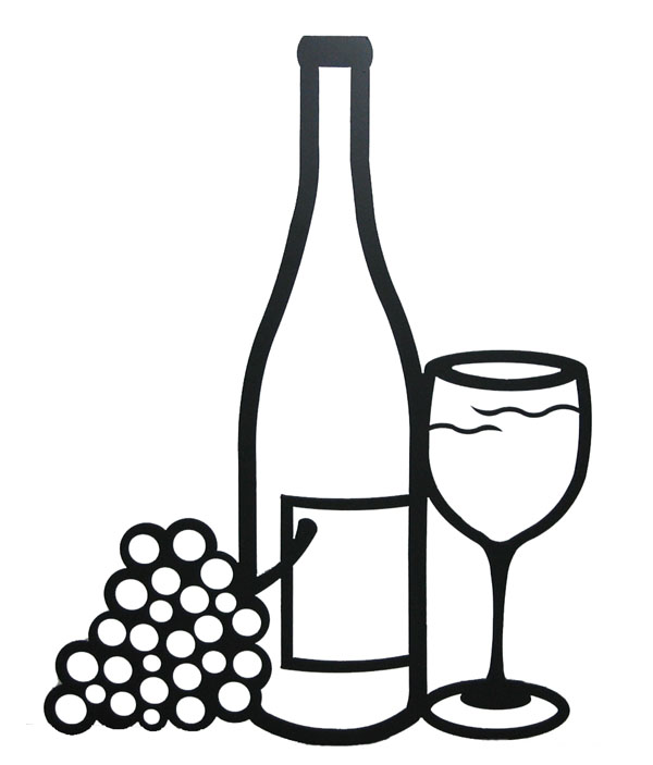 Free Wine Bottle And Glass, Download Free Clip Art, Free