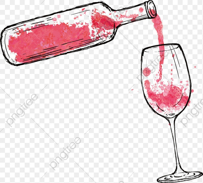 Download Free png Cartoon Red Wine, Cartoon Clipart, Wine