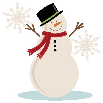 Free snowman background.