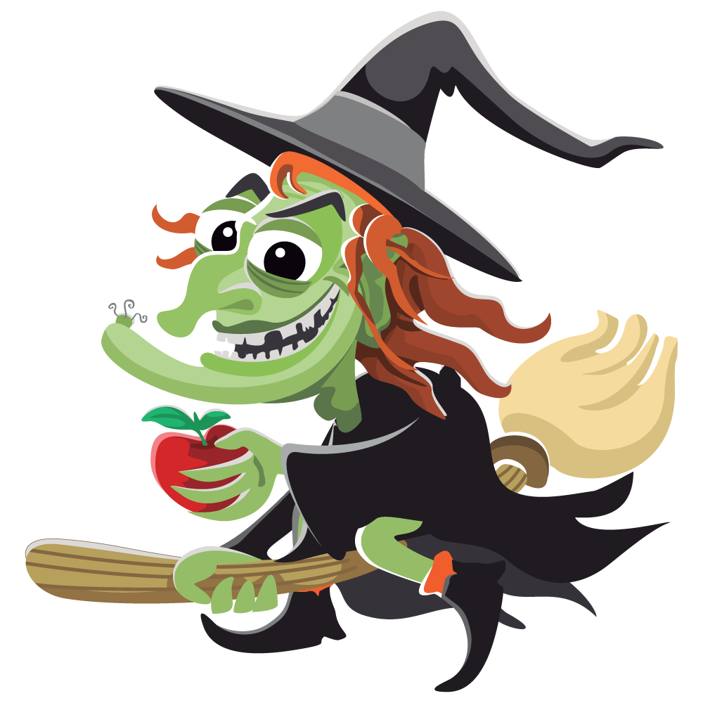 Free witch cliparts.