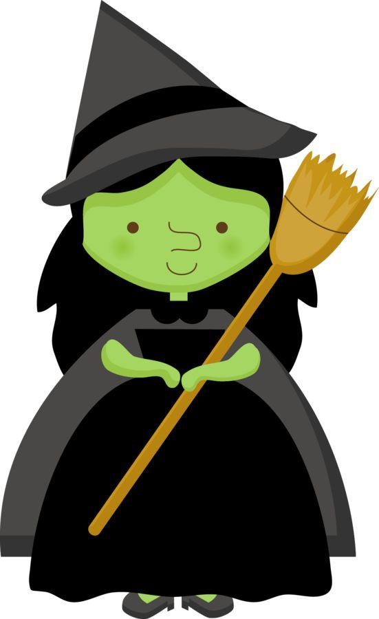 Witch clipart holiday.