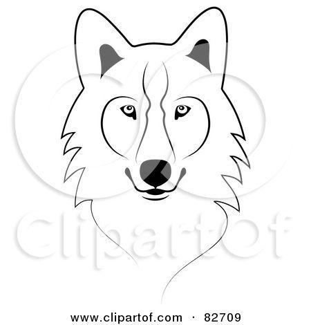 Timberwolf outline