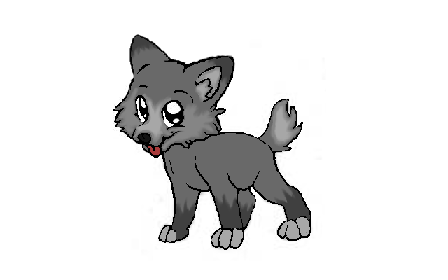 Wolf Puppy by MrStockley on Clipart library