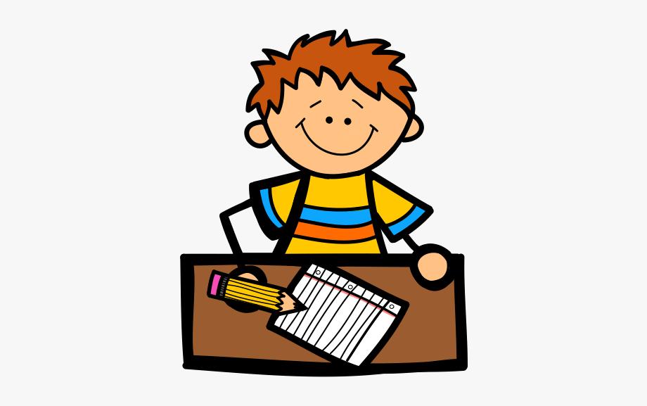 children writing clipart baby