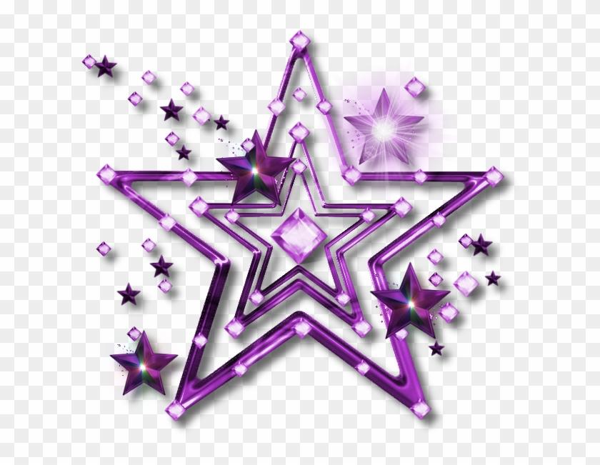 Starburst clipart purple.