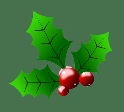 Holly christmas clipart.