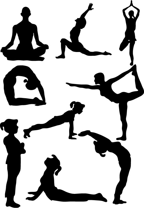 Yoga clipart male. Free pose cliparts download