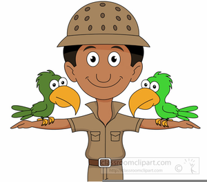 Zookeeper clipart animated.