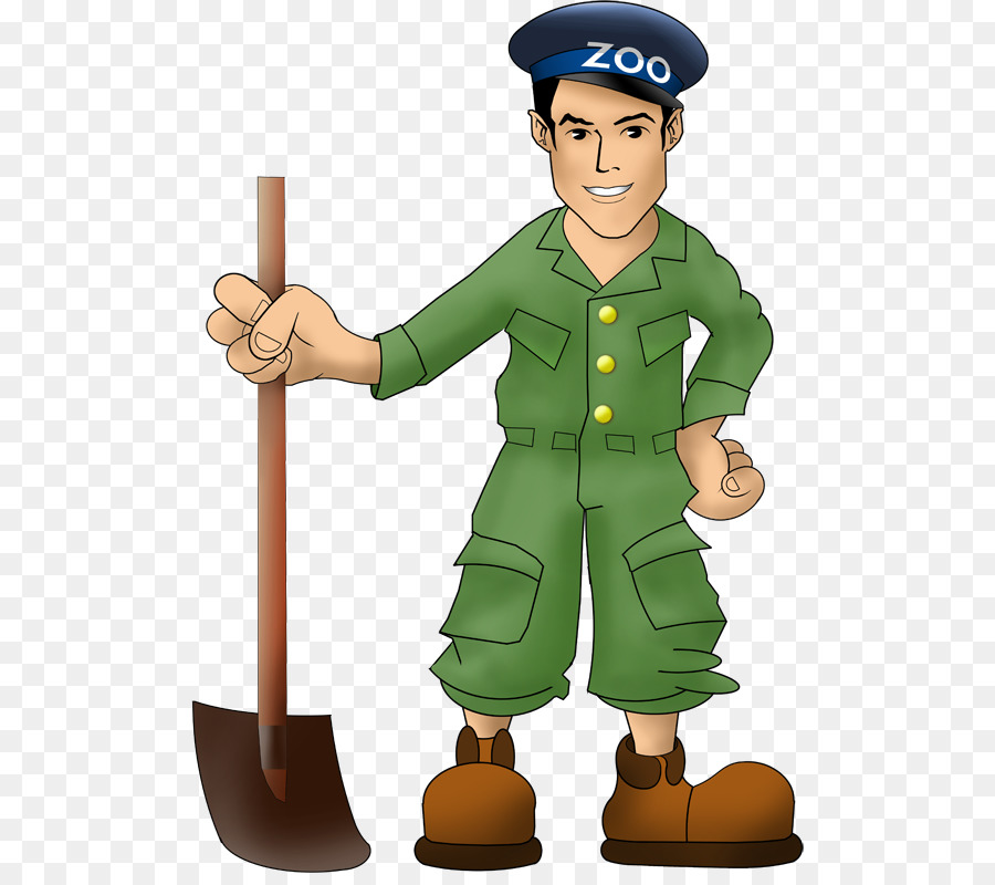 zookeeper clipart transparent