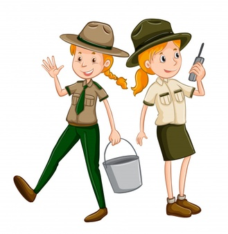 Zookeeper clipart kid.